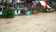 Dutzende Menschen sterben bei Überschwemmungen in Indien