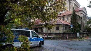 Schutz der Frankfurter Synagoge erhöht