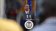 Verfahren gegen Kenias Staatschef geplatzt