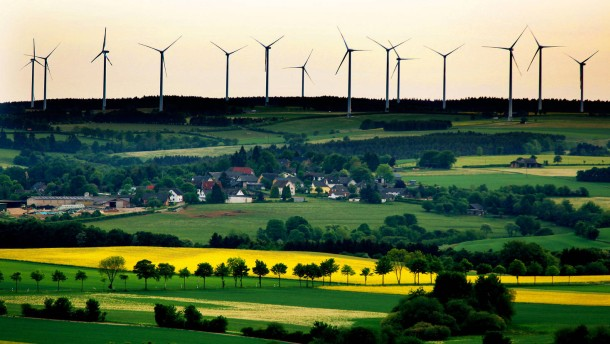 Windkraft in der Eifel