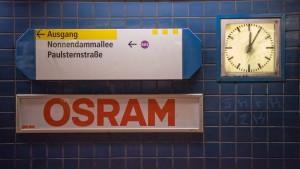 Übernahme beflügelt Osram-Aktienkurs