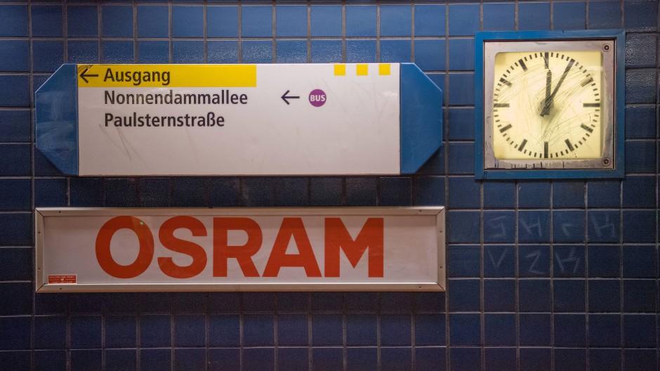Nun ist der Weg eindeutig geworden: Osram wird übernommen.