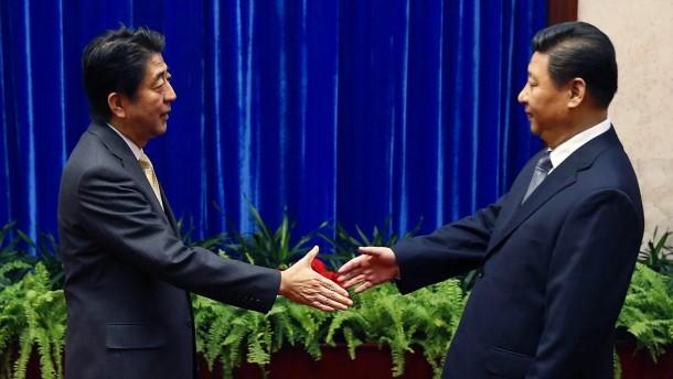 China redet wieder mit seinem Rivalen Japan