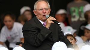 Schäuble: Finanzmarktsteuer nicht vor Bundestagswahl
