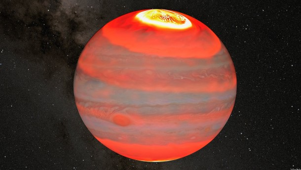 Eine Heizung für den Gasplaneten