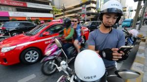 Uber entdeckt in Asien das Zweirad