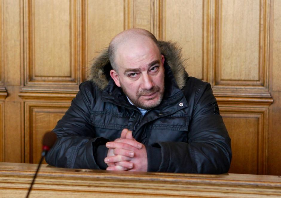 Ibrahim Miri bei einer Gerichtsverhandlung im Jahr 2012