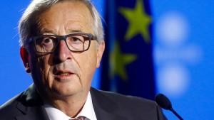 Juncker lehnt Streichung von EU-Geldern für Polen und Ungarn ab
