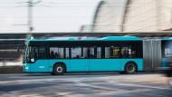 Wieder in Fahrt: Nach den Busfahrerstreiks in Hessen gibt es endlich eine Einigung.
