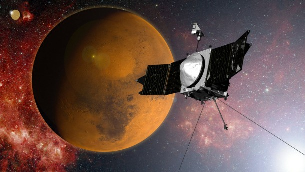 """Sonde """"Maven"""" hat den Mars erreicht"""