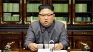 Kim Jong Un: Trump ist ein geistesgestörter Greis
