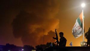 Kampf um den Flughafen von Karachi