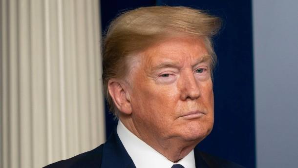 Trump müht sich um Schadensbegrenzung