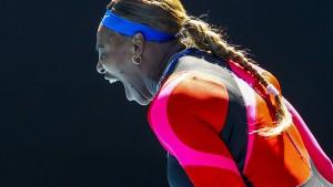 Topfavoritin Serena Williams im Viertelfinale – Thiem raus