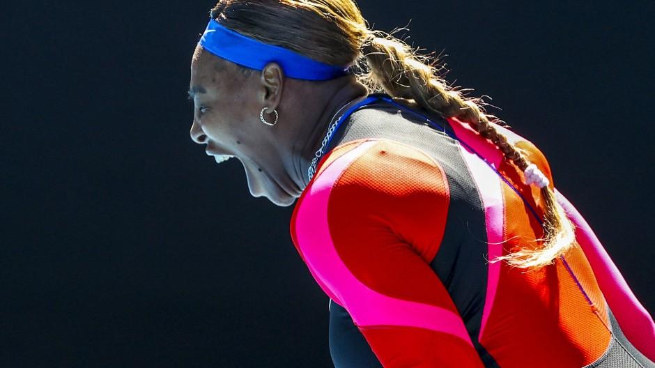 Serena Williams bei den US Open