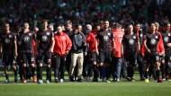 Geschlossenheit als Trumpf: Die Eintracht-Profis nehmen Kurs auf die beiden Relegationsspiele gegen Nürnberg.