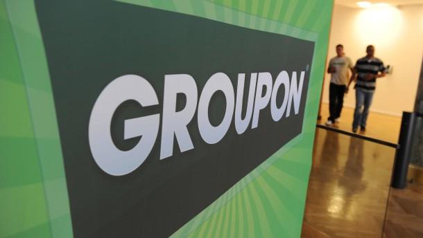 Groupon fängt sich