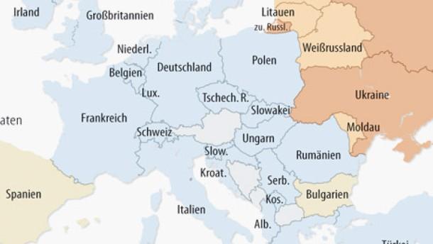 Infografik / Karte / HIV-Neuinfektionen bei injizierenden Rauschgiftsüchtigen