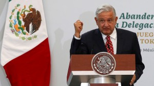 López Obrador entdeckt die Außenpolitik
