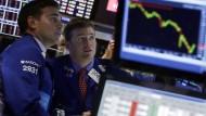 Achterbahn an der Wall Street