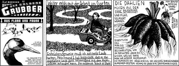 Comic / Kat Menschik / Der goldene Grubber / 012