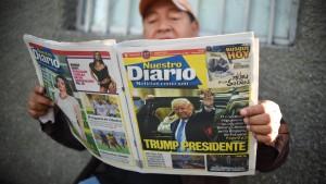 Wie die Welt auf Trumps Sieg reagiert