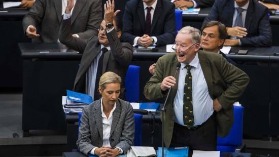 So heiß ging es im Bundestag her
