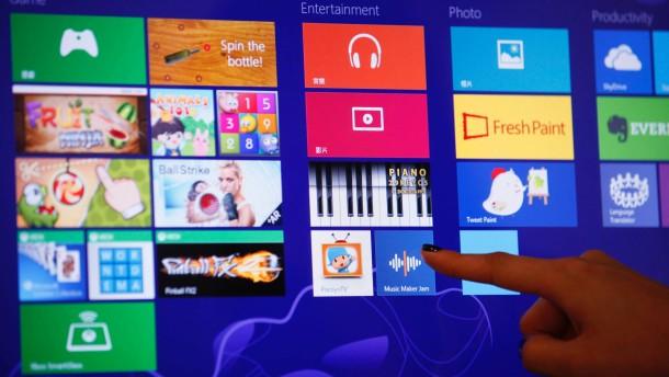 Neues Windows 8 verkauft sich 40 Millionen Mal