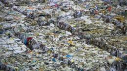 Die Amerikaner ersticken im eigenen  Müll