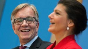 Die Linkspartei hat das Politikmachen aufgegeben