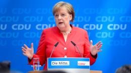 Merkel droht Seehofer mit Richtlinienkompetenz
