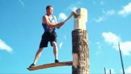 Kräftemessen der Holzfäller