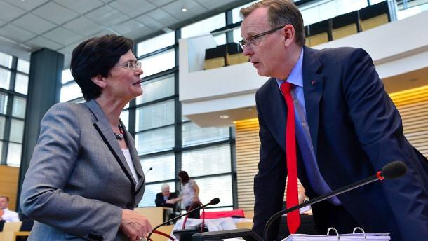 Lieberknecht rät Union zur Koalition mit Ramelow