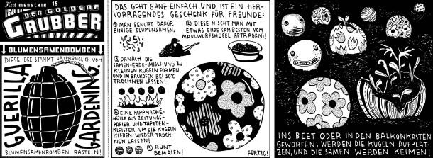 Comic/ Kat Menschik / Der goldene Grubber / 015