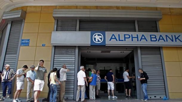Deutsche Sparer sollen für griechische Banken haften