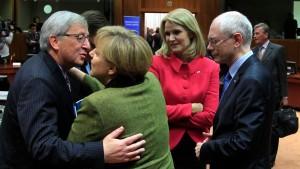 EU-Gipfel einigt sich auf verkleinerten Haushalt