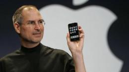 Steve Jobs stellt das erste iPhone vor