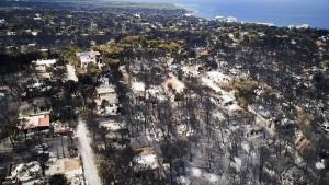 Griechische Regierung vermutet Brandstiftung