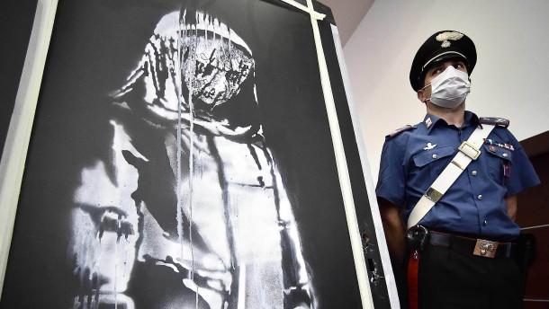 Festnahmen nach Diebstahl von Banksy-Gemälde