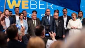 Union beendet Europawahlkampf