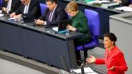 Bundestag streitet über Schuldige für AfD-Stärke