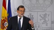 Spaniens Regierung fordert Klarheit