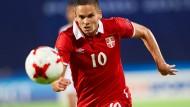 Blick in die Zukunft gerichtet: Mijat Gacinovic ist einer der vielversprechendsten Spieler im Eintracht-Kader.