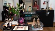 Luxus-Vintage: Anja Murjahn betreibt an der Hochstraße in Frankfurt die Boutique Style Definery.