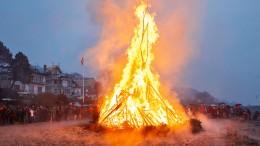 Viele Osterfeuer wegen hoher Waldbrandgefahr abgesagt