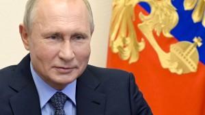 Damit Putin das Lachen vergeht