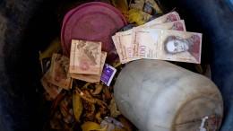 Währung in Venezuela verliert Wert