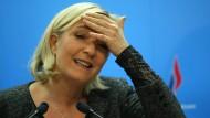 """Marine Le Pen frohlockt über einen """"außerordentlichen Zuwachs"""" an Wählerstimmen für den Front National"""