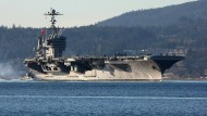 Amerikas Flugzeugträger in Hongkong unerwünscht