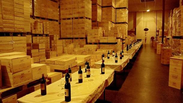 Bordeaux Weinkeller